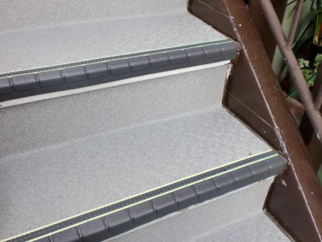 タキステップで階段をサビから守る