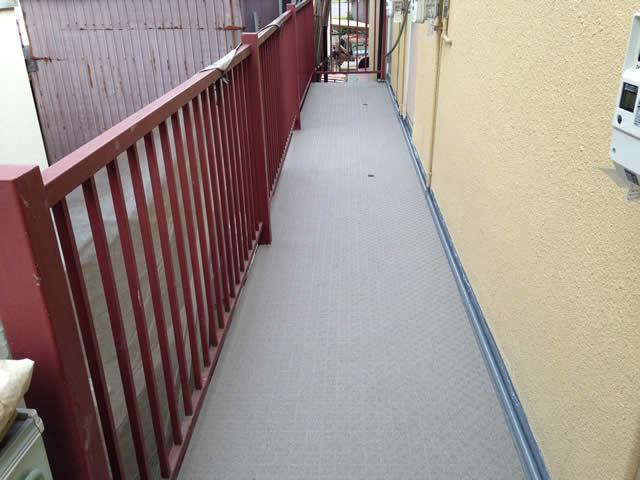 アパート廊下長尺シート