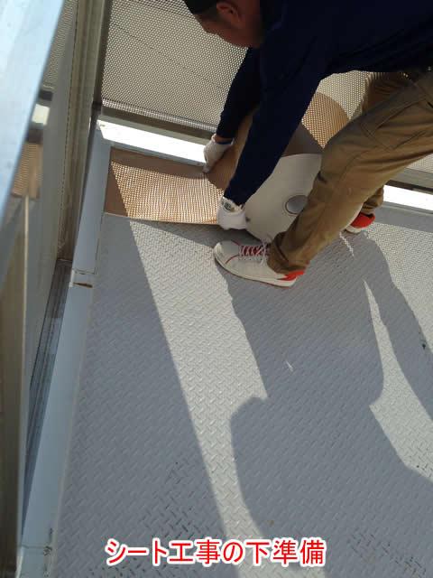縞板鋼板用シート下地