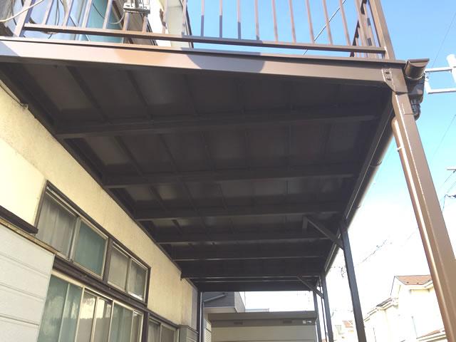 鉄骨バルコニー(2)