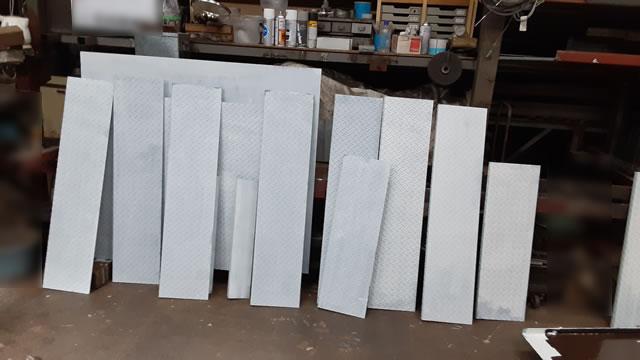 補強材の工場加工